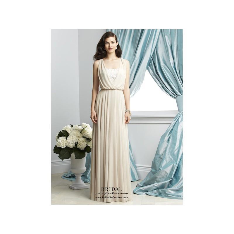 Hochzeit - Dessy 2934 - Burgundy Evening Dresses
