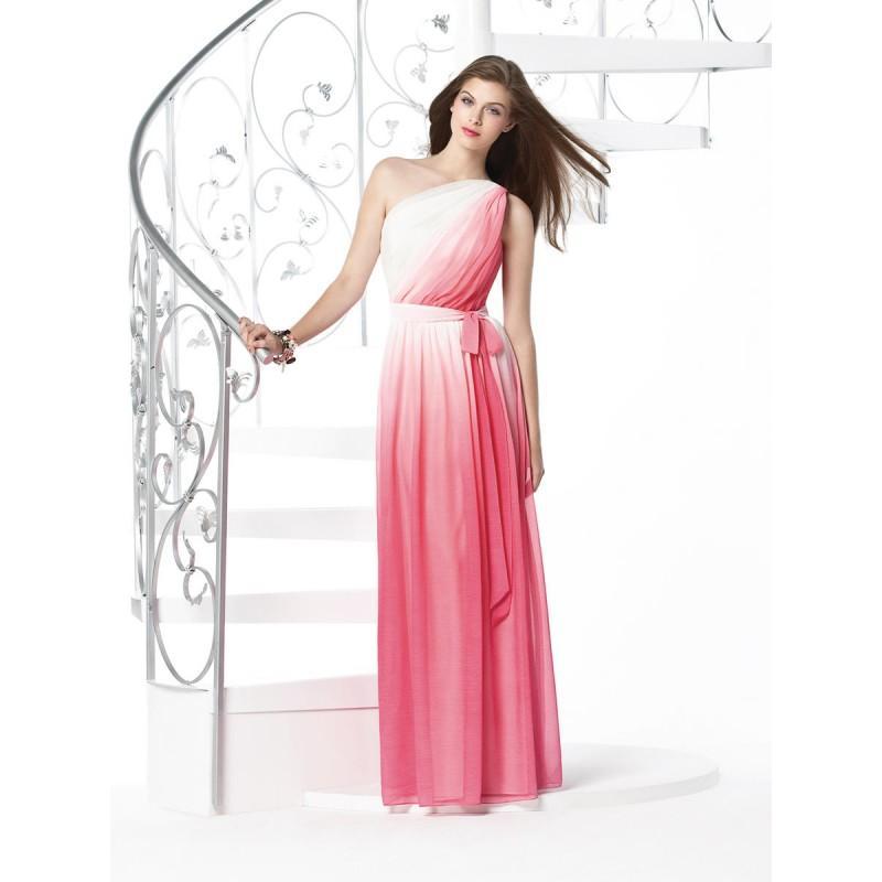 Wedding - Dessy Bridesmaids 2831Ombre - Rosy Bridesmaid Dresses