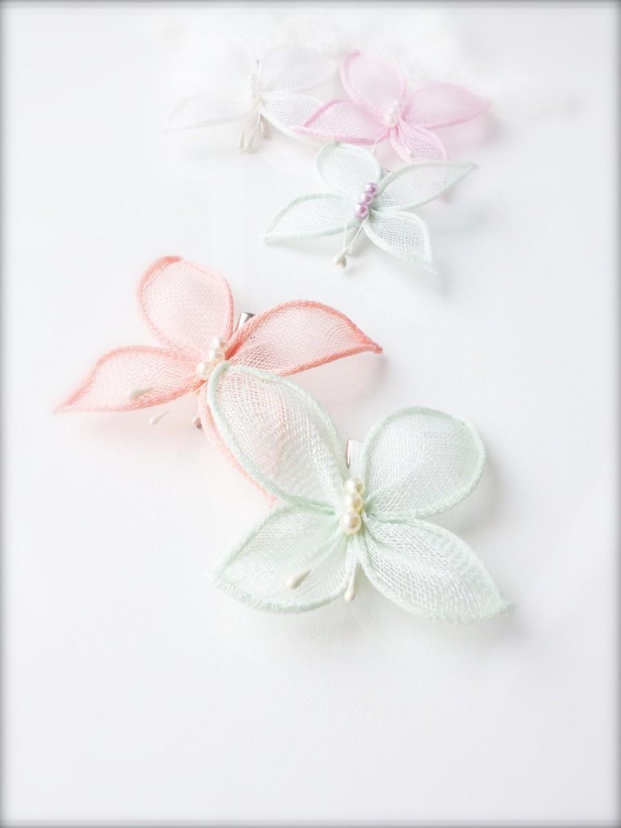 Mariage - Wedding butterfly,wedding hair accessory,bridal butterfly hair clip,summer wedding