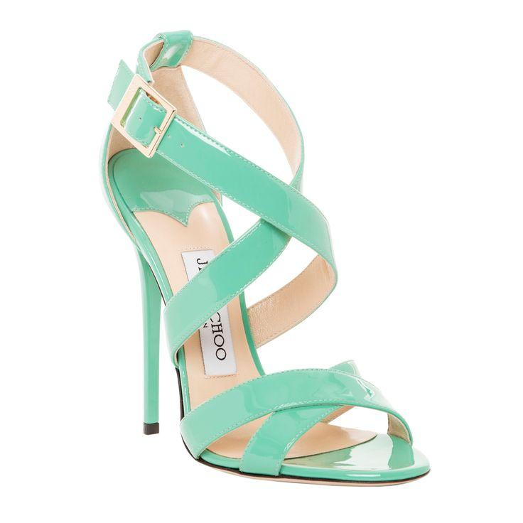 Wedding - Jimmy Choo Patent Leather Xenia Strappy Sandal By Jimmy Choo