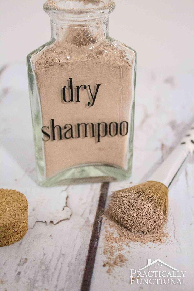 Boda - DIY Dry Shampoo For Dark Hair