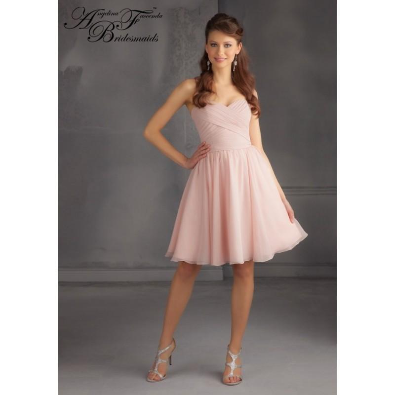 Wedding - Angelina Faccenda Bridesmaids by Mori Lee 204350 - Crazy Sale Bridal Dresses