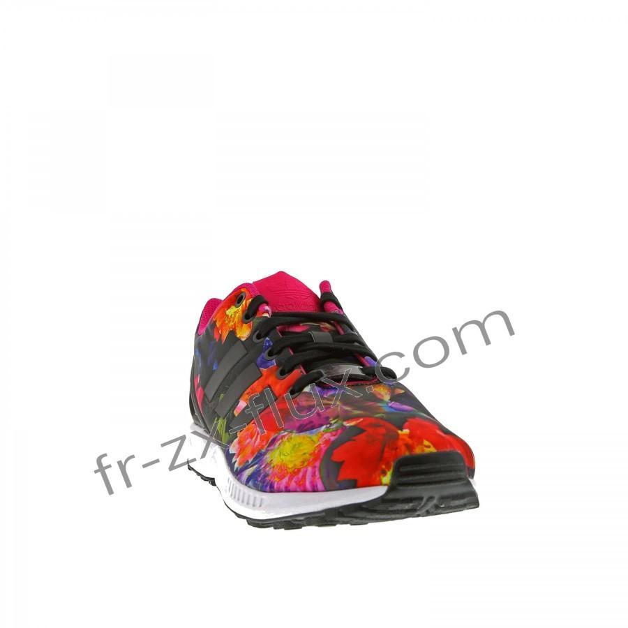 adidas femme zx flux noir et rose
