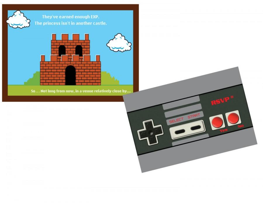 Wedding - Nintendo Wedding Invitation Set