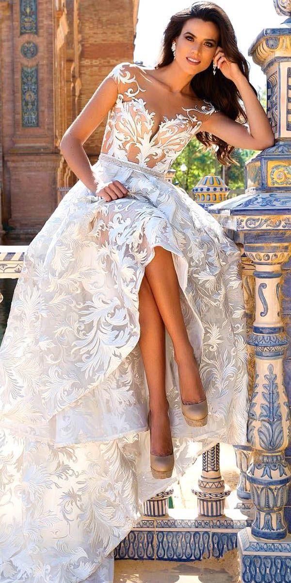Свадьба - 21 Gorgeous Tattoo Effect Wedding Dresses