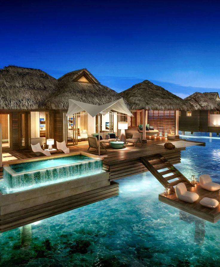 Wedding - These Overwater Hotel Suites Are INSANE (& All-Inclusive!)