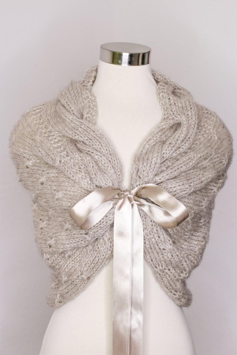 Mariage - Bridal Bolero,Wedding Shrug,Wedding Cape, Bridal shawl,Wedding Shawl, Bridal Wrap,Winter Wedding Shawl, Capelet ,Bridal Cape,Bridal Wrap