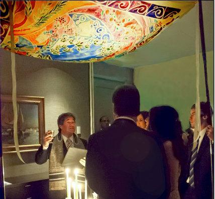 Mariage - CUSTOM CHUPPAH - personalized Chuppah - Hebrew English - Jewish wedding canopy - Wedding chuppah - Fabric - Judaica Art - Jewish Holidays