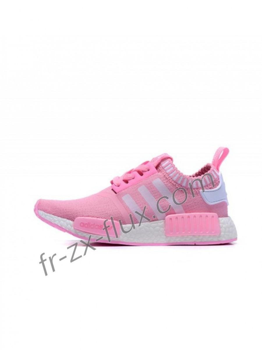 Mariage - Réduction - Femme Adidas Originals Nmd Pink Et Blanc Chaussures - adidas Collection