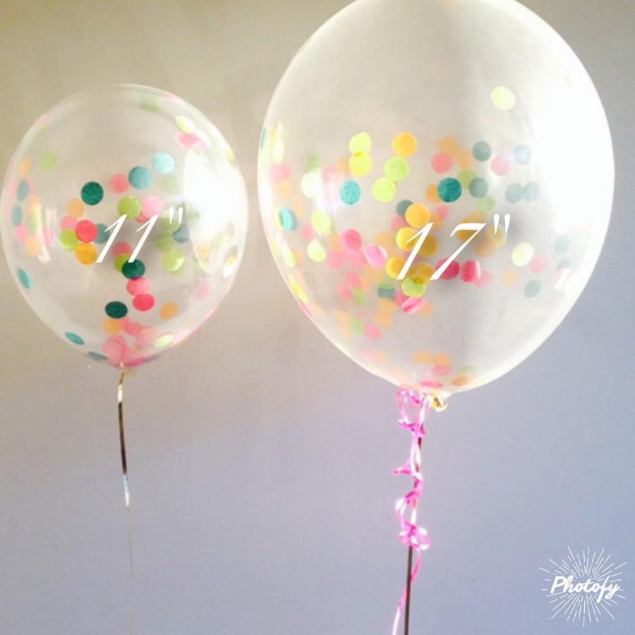 Hochzeit - Custom Colors- 4 Balloon Bunch / Centerpiece