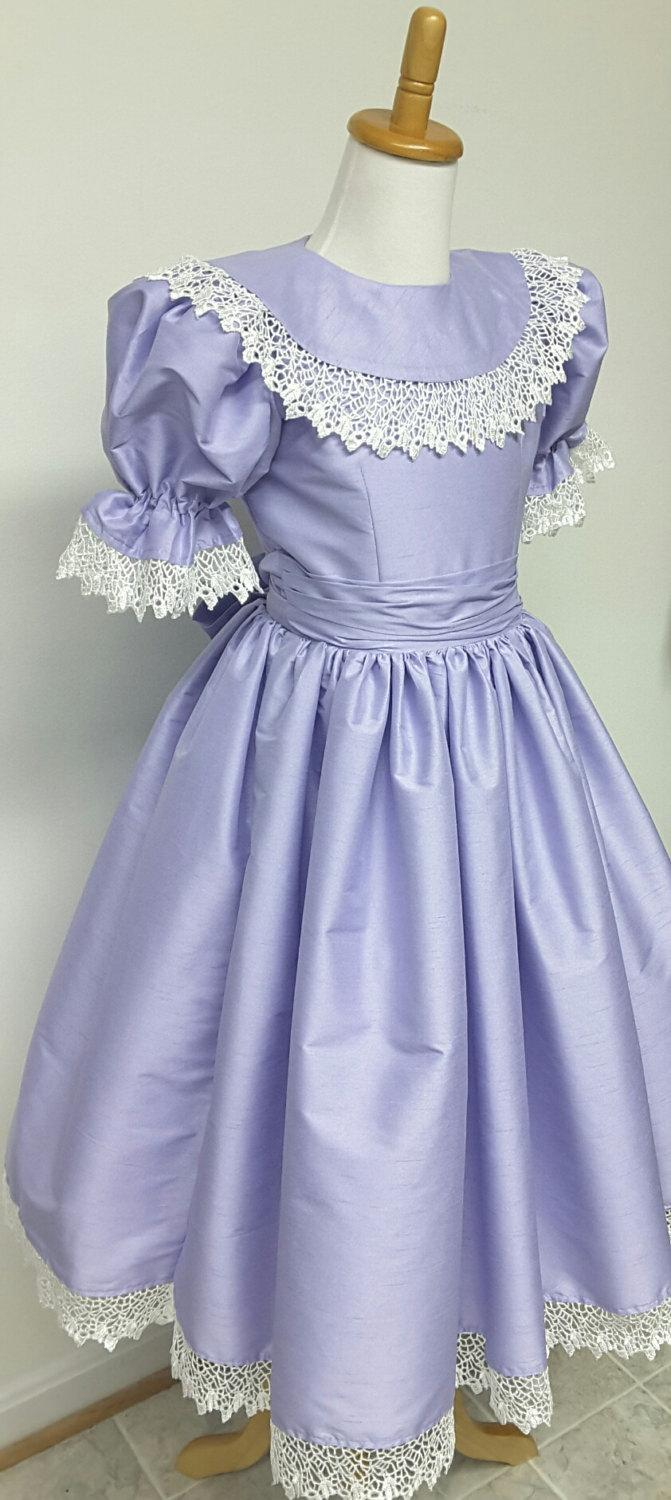 96de1535ca Princess Flower Girl Dress With Ruffles