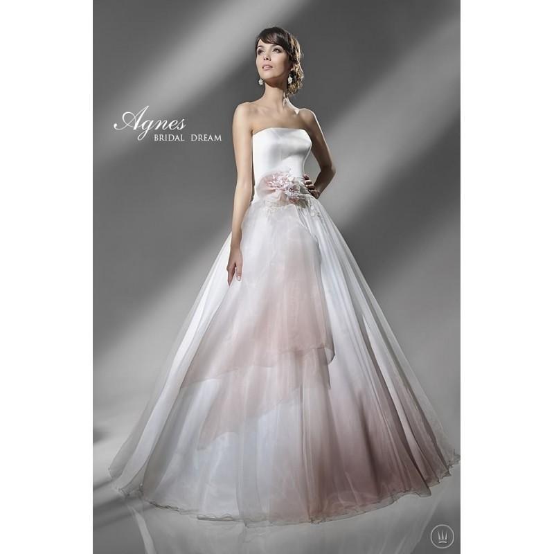 Wedding - Agnes 10824 Agnes Wedding Dresses Platinium Collection - Rosy Bridesmaid Dresses