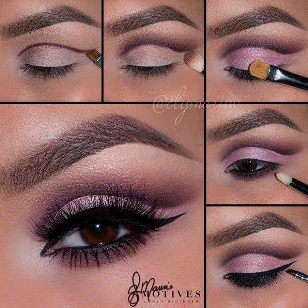Wedding - Step By Step Eye Makeup - PICS. My Collection