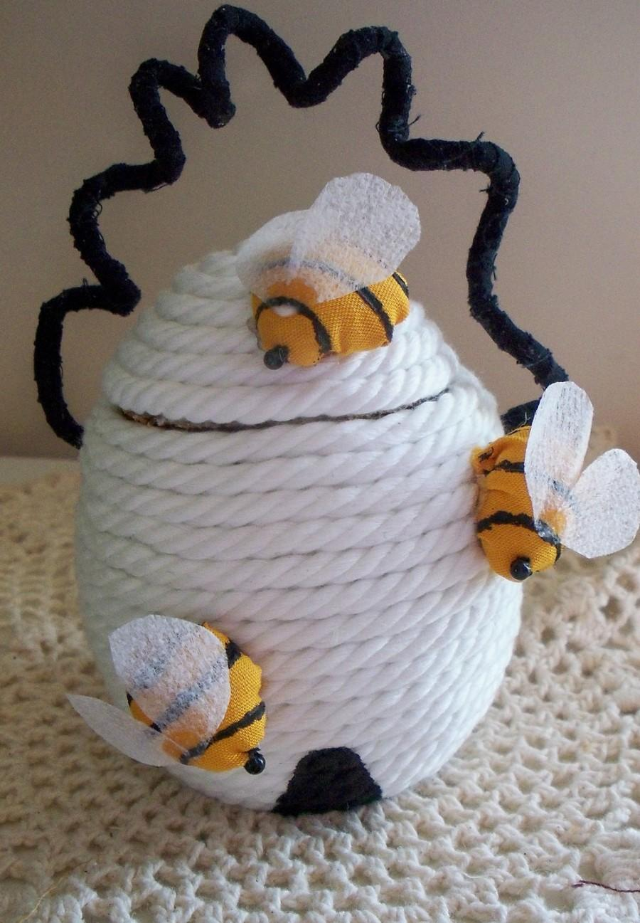 Свадьба - White Honey Bee Hive Made To Order