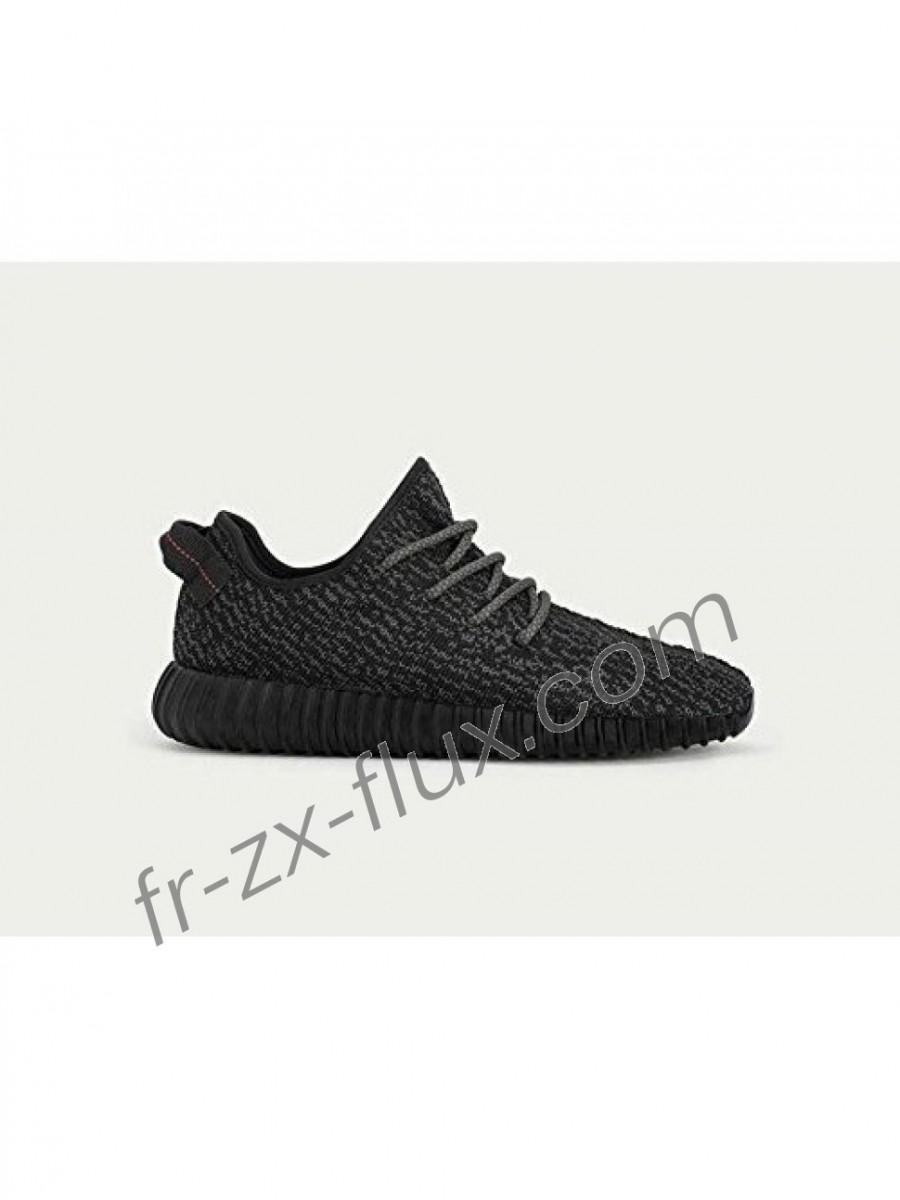 outlet store 6e7fd 7eede adidas Collection - Femme Adidas Yeezy 350 Boost Pirate Noir Chaussures Pas  Cher