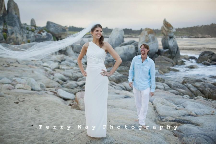 "Mariage - Cathedral wedding veil long, 80"" long wedding veil White,  Ivory, Diamond white"