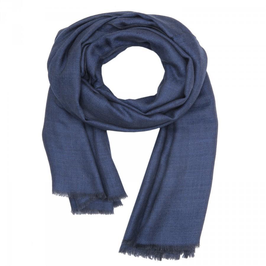 Свадьба - Merino Wool & Silk Scarf New Soft Warm Winter Fashion Unisex Men's Stole Women Shawls Christmas Gift Kashmir Scarves / WKF00000006 - KASHFAB