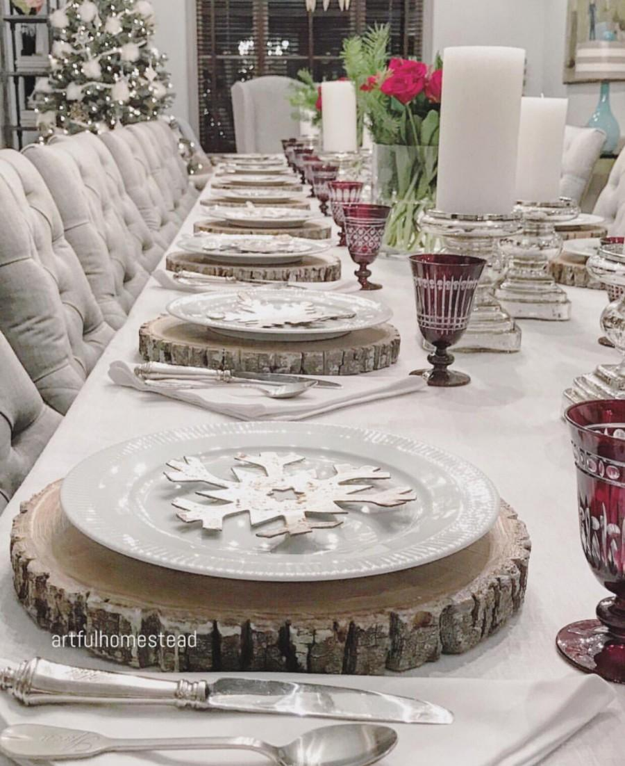 """Свадьба - 12-13"""" TREATED wood slice centerpieces! Wood chargers, cupcake stands, cake stands, wood slices, rustic home decor, wood slabs"""