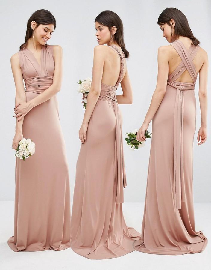 Wedding - TFNC Tall Wedding Multiway Fishtail Maxi Dress