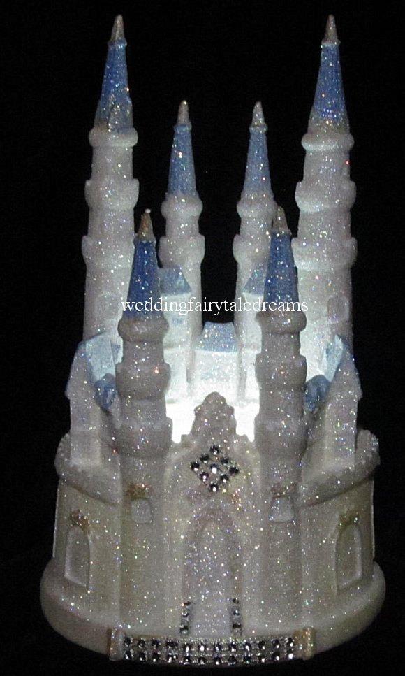 Lighted Winter Wonderland Wedding Cinderella Castle 15 16 Birthday