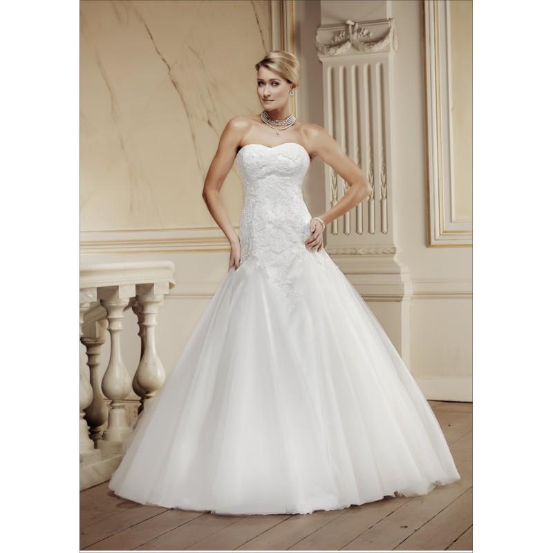 زفاف - Modeca-2014-Pia-front - Stunning Cheap Wedding Dresses