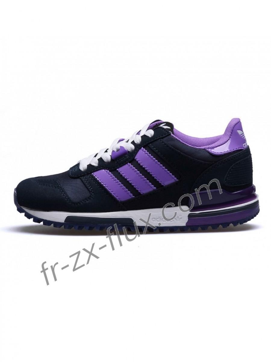 Chaussures Pour 700 Adidas Noirlilas Couleurblanc Cuir Femme Zx lFTK1cJ