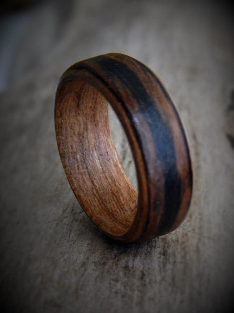 Wedding - Hand Made Wood Ring - Unisex Ring - Gift for Him - Couples Ring - Gift for Boyfriend - Rustic Wedding Ring - Friendship Ring - wooden ring