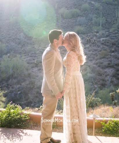 Wedding - Long Lace Wedding Dress / Delicate Ivory Bridal Gown with sleeves