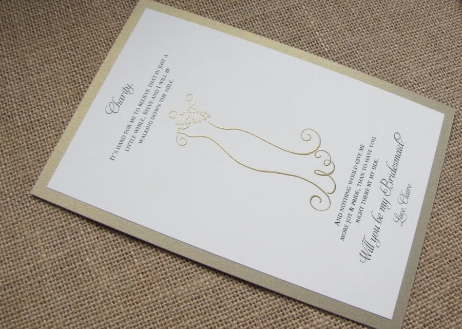 Wedding - Will you be my Bridesmaid Cards, Matron of Honor, Flower Girl Cards