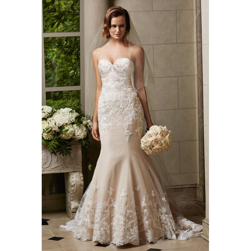 Watters Wedding Dresses: Wtoo By Watters Cosette 14519 Fit And Flare Lace Wedding