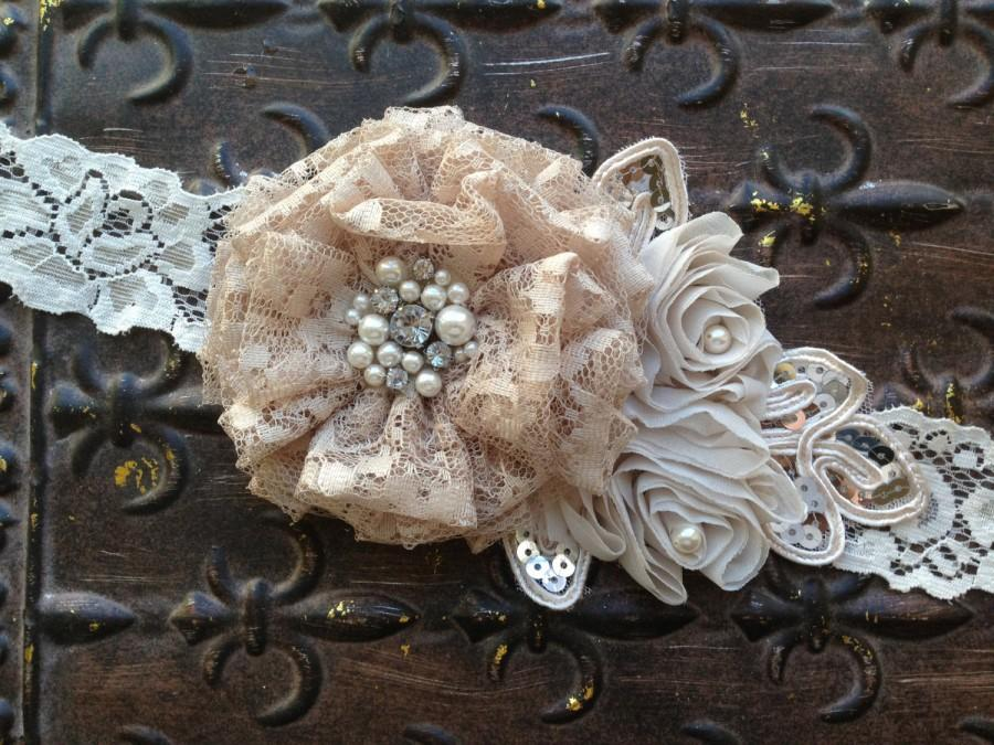 Wedding - Bridal Belt, Bridal Sash, Vintage Bridal Sash, Lace Bridal Belt, Bridesmaids Belt, Vintage Wedding Sash, Bridesmaids Sash, Lace Sash