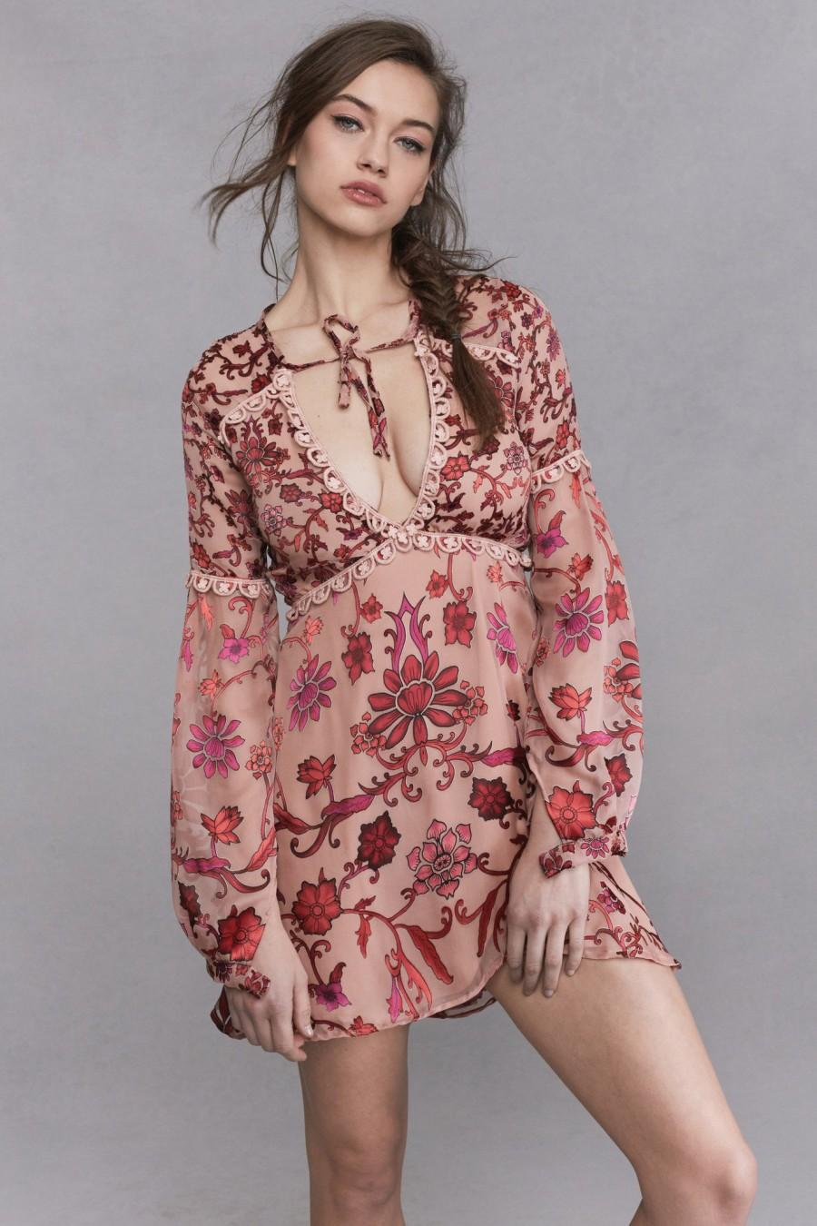 Wedding - FOR LOVE & LEMONS SAFFRON MINI DRESS