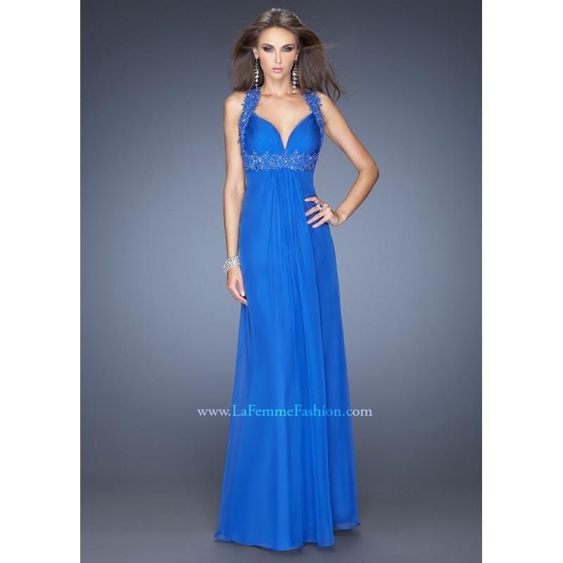 Wedding - La Femme 20134 Elegant Evening Gown Website Special - 2017 Spring Trends Dresses
