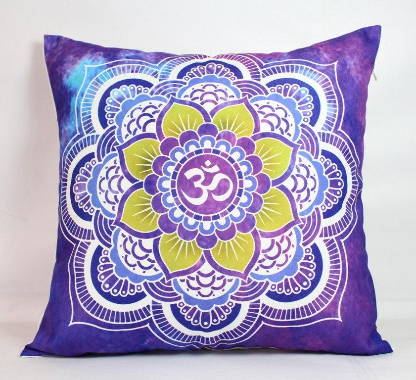 Purple Pillow Cover 40x40 Pillow Cover 40x40 Mandala Pillow Cover Stunning What Size Insert For 18x18 Pillow Cover
