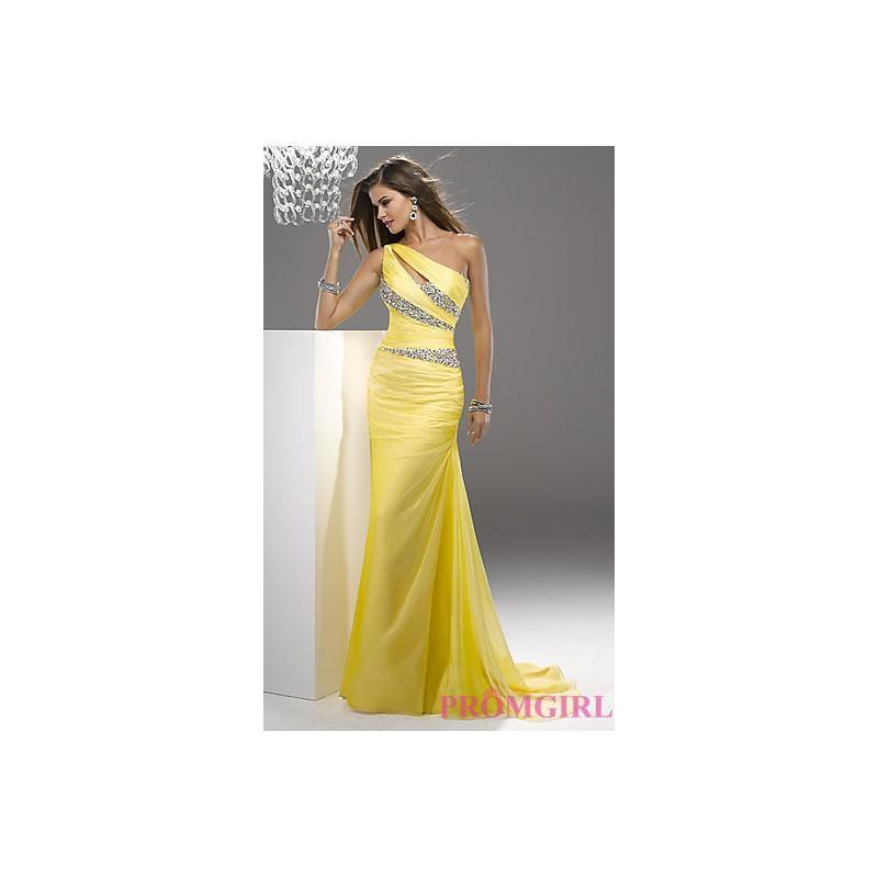 Fl P4717p One Shoulder Purple Dresses By Flirt P4717 Bonny Evening Online