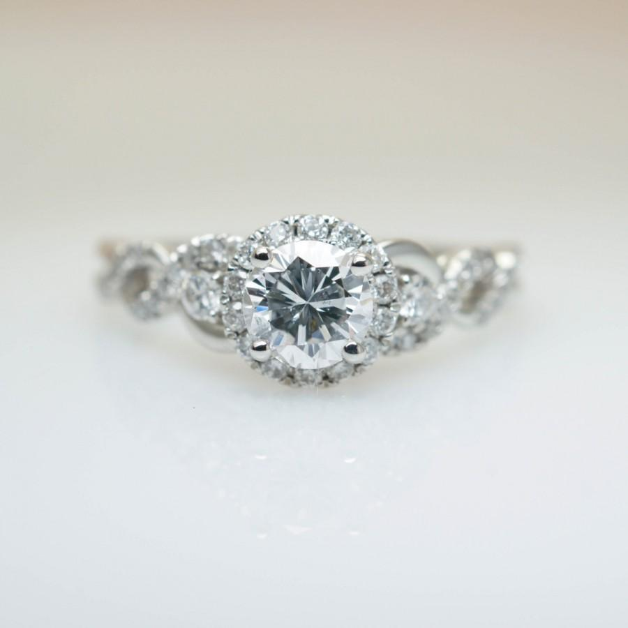 halo engagement ring design infinity double of large collection diamond wedding size
