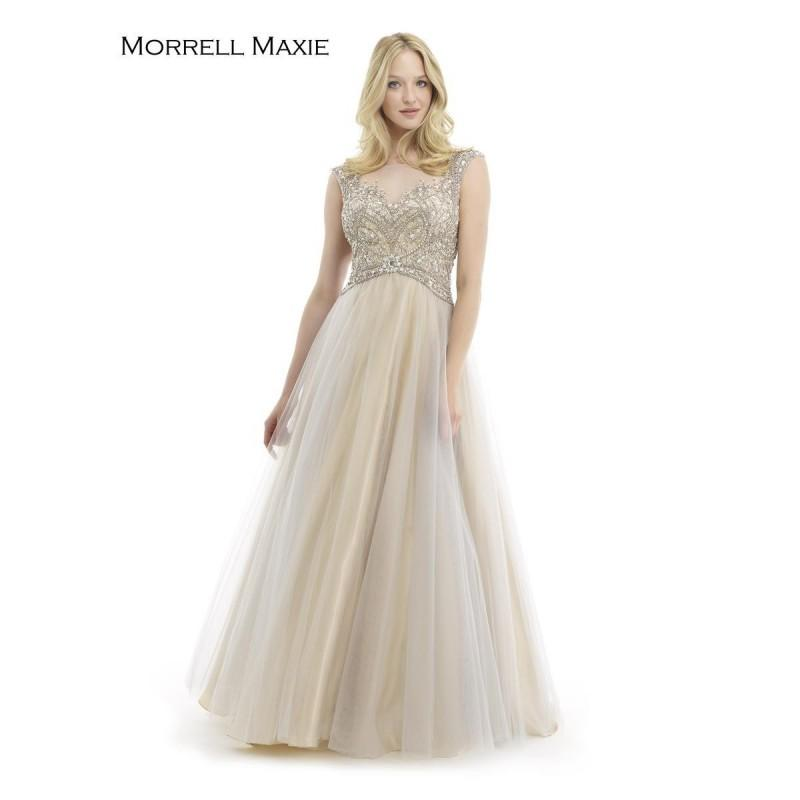 Wedding - Grey/Nude Morrell Maxie 15195 Morrell Maxie - Top Design Dress Online Shop