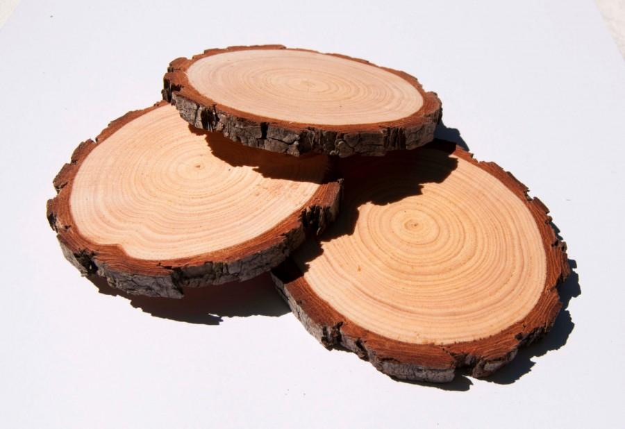 8 10 Cm Wood Slices Pack 3 4 Inch Tree Burning Rustic Wedding Slice Coasters Pyrography
