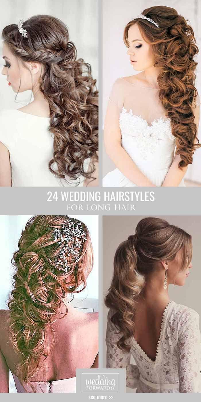 Haar   15 Best Wedding Hairstyles For Long Hair 15   Weddbook