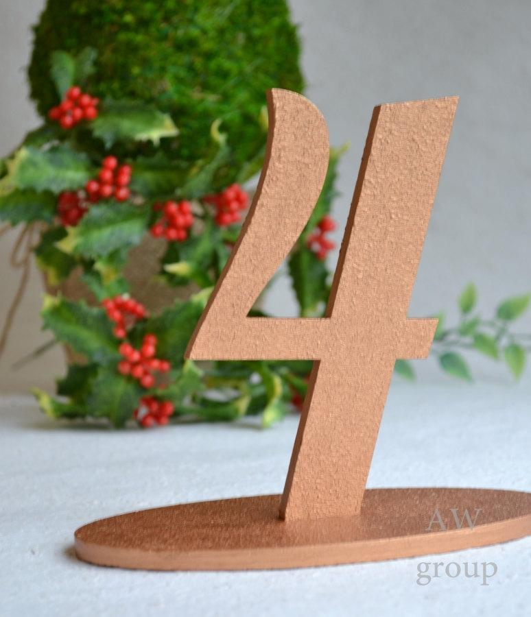 Wedding - Freestanding numbers Set Table Numbers 1-10 Numerator Wedding table decoration Table Serving Guest Table Anniversairy Wood table set of 10