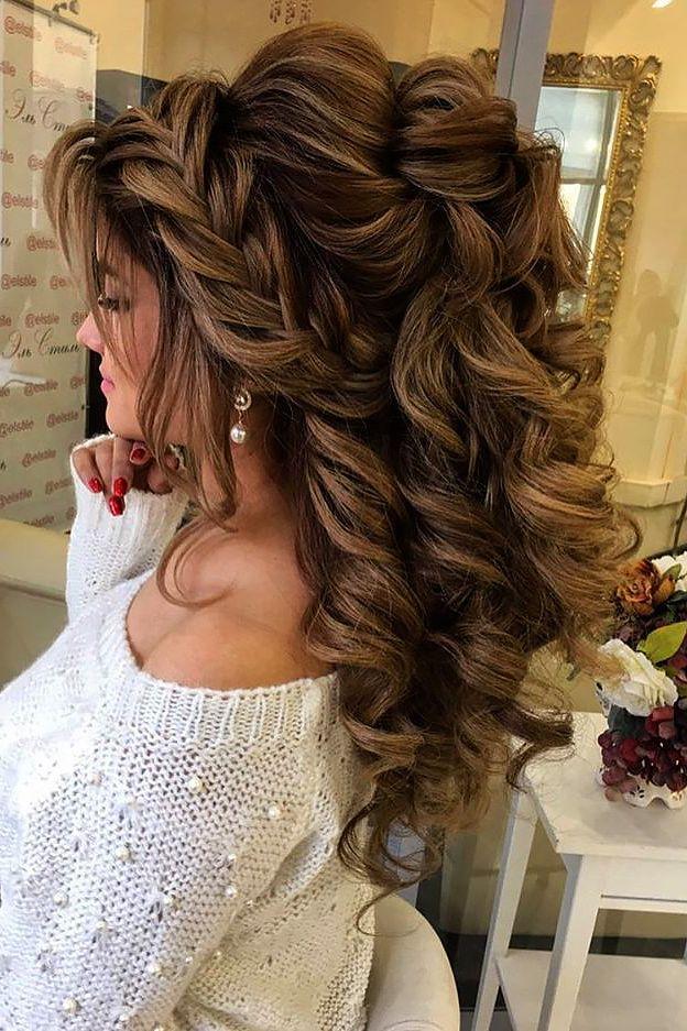زفاف - 18 Creative & Unique Wedding Hairstyles