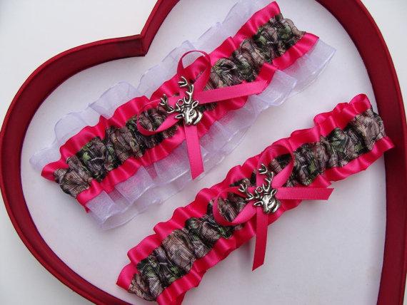 NEW French Pink White Wedding Garter SELECT Set keepsake toss plus size set