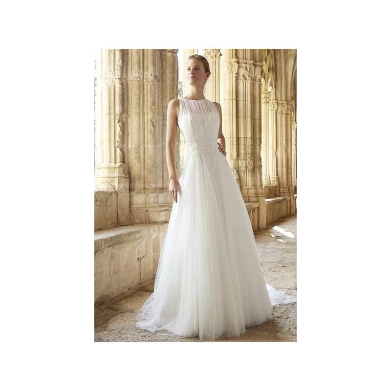 Mariage - Vestido de novia de Raimon Bundó Modelo Malta - 2015 Evasé Tirantes Vestido - Tienda nupcial con estilo del cordón