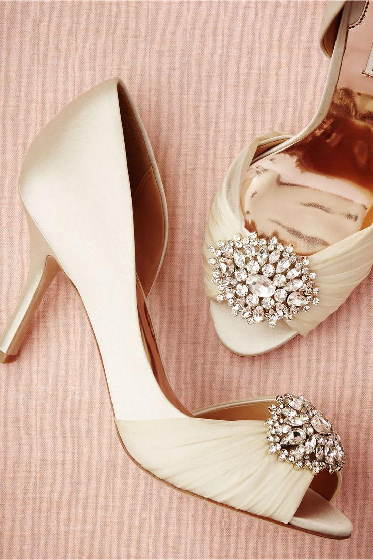 Свадьба - Brocade Heels In  New Attire At BHLDN