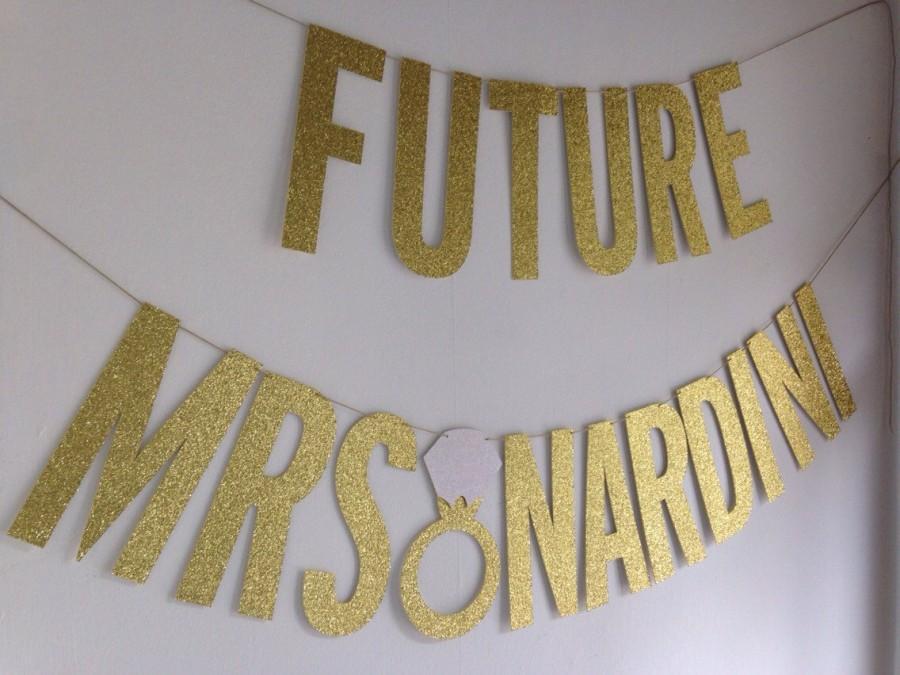 Свадьба - Future Mrs Banner