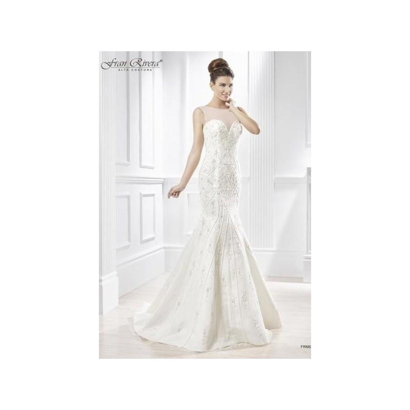 Mariage - Vestido de novia de Fran Rivera Alta Costura Modelo FRN633 - 2015 Sirena Otros Vestido - Tienda nupcial con estilo del cordón