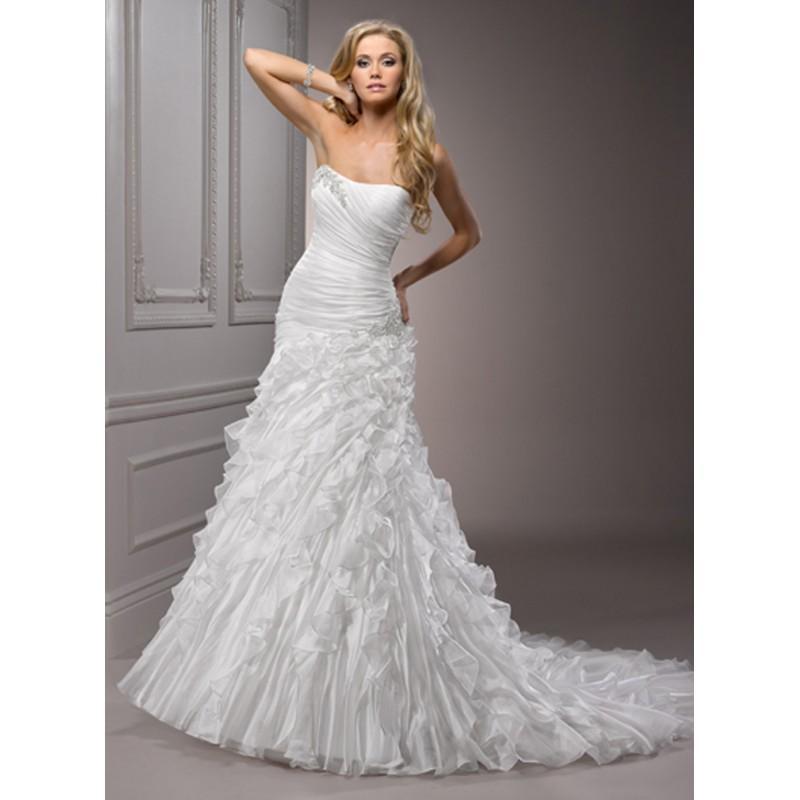 Boda - Maggie Sottero Mindi Bridal Gown (2012) (MS12_MindiBG) - Crazy Sale Formal Dresses