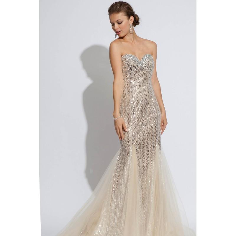 b5d9a7c7a6419a Jovani 79227 Nude/silver - 2017 Spring Trends Dresses #2663133 ...