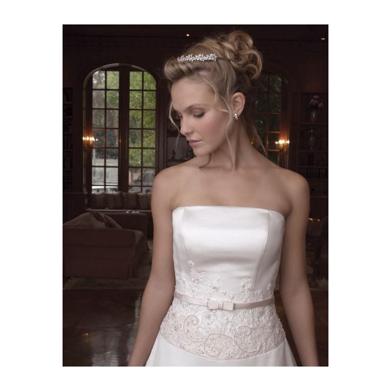 زفاف - Casablanca 1795 Bridal Gown (2011) (CB05_1795BG) - Crazy Sale Formal Dresses