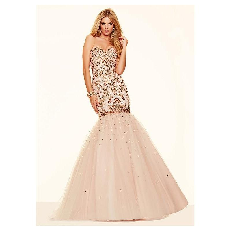 Wedding - Fantastic Tulle Sweetheart Neckline Mermaid Evening Dresses With Beadings & Rhinestones & Embroidery - overpinks.com